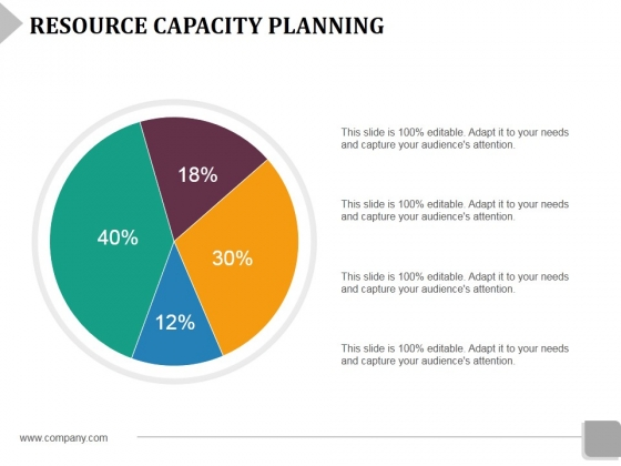 Resource Capacity Planning Template 2 Ppt PowerPoint Presentation Show Maker