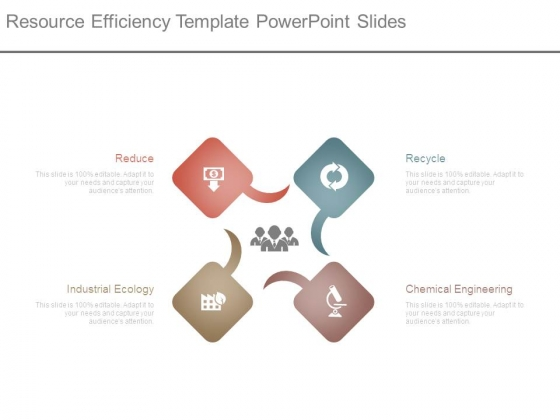 Resource Efficiency Template Powerpoint Slides