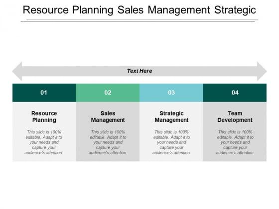Resource Planning Sales Management Strategic Management Team Development Ppt PowerPoint Presentation Icon Portrait