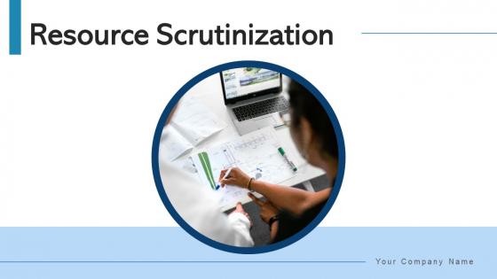 Resource Scrutinization Strategic Planning Ppt PowerPoint Presentation Complete Deck With Slides