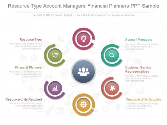 Resource Type Account Managers Financial Planners Ppt Sample