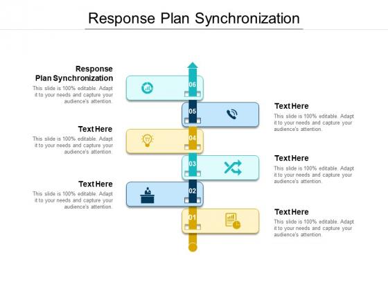 Response Plan Synchronization Ppt PowerPoint Presentation Professional Gridlines Cpb Pdf