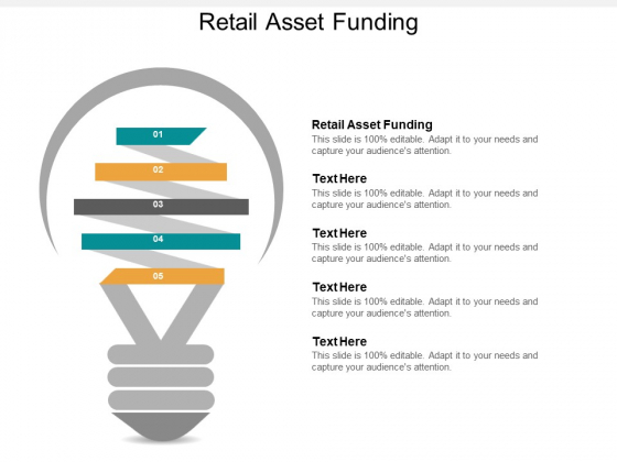 Retail Asset Funding Ppt PowerPoint Presentation Outline Images Cpb