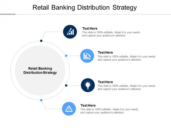 Retail Banking Distribution Strategy Ppt PowerPoint Presentation Model Pictures Cpb