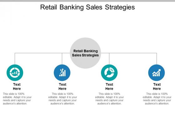 Retail Banking Sales Strategies Ppt PowerPoint Presentation Gallery Smartart Cpb