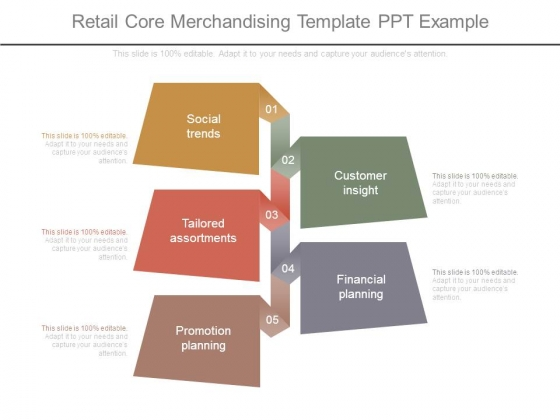 Retail Core Merchandising Template Ppt Example