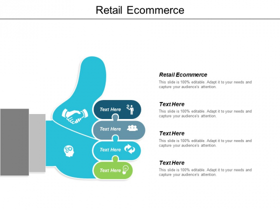 Retail Ecommerce Ppt Powerpoint Presentation Infographic Template Inspiration Cpb