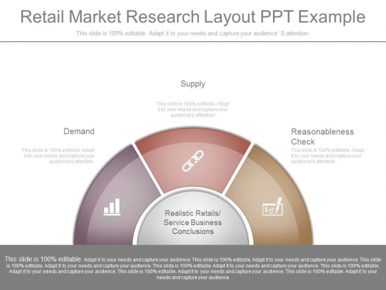 Retail Market Research Layout Ppt Example