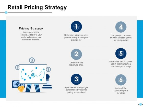 Retail Pricing Strategy Marketing Ppt PowerPoint Presentation Layouts Good
