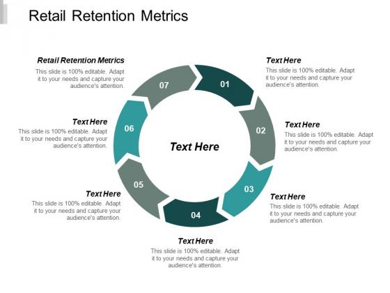 Retail Retention Metrics Ppt PowerPoint Presentation Infographics Topics Cpb