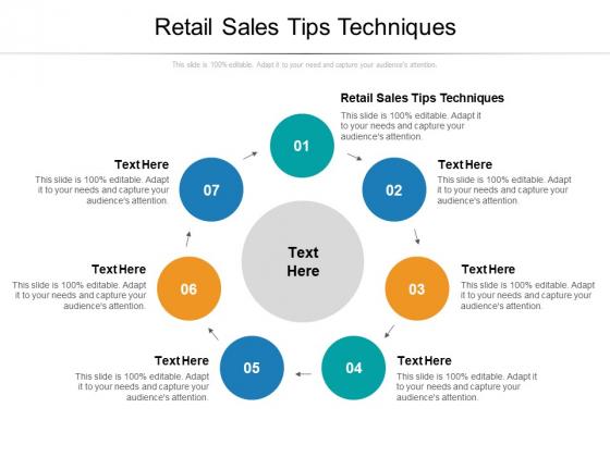 Retail Sales Tips Techniques Ppt PowerPoint Presentation Outline Model Cpb Pdf
