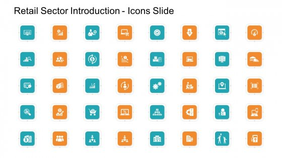 Retail Sector Introduction Icons Slide Introduction PDF