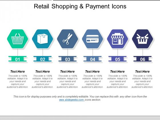 Retail Shopping And Payment Icons Ppt PowerPoint Presentation Inspiration Graphic Images