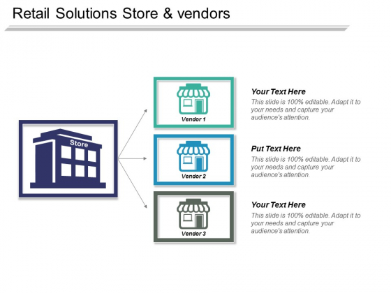 Retail Solutions Store And Vendors Ppt PowerPoint Presentation Portfolio Introduction