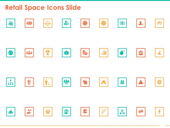 Retail Space Icons Slide Ppt File Images PDF