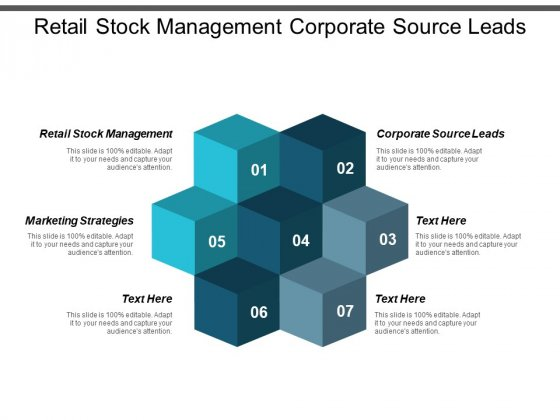 Retail Stock Management Corporate Source Leads Marketing Strategies Ppt PowerPoint Presentation Portfolio Topics