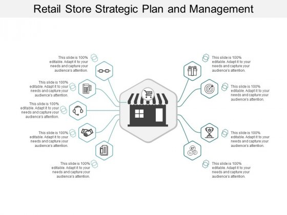 Retail Store Strategic Plan And Management Ppt Powerpoint Presentation Background Images