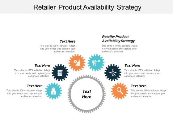 Retailer Product Availability Strategy Ppt PowerPoint Presentation Example Cpb
