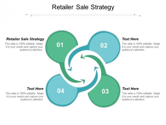 Retailer Sale Strategy Ppt PowerPoint Presentation Icon Cpb