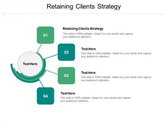 Retaining Clients Strategy Ppt PowerPoint Presentation Professional Example File Cpb Pdf