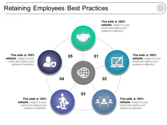 Retaining Employees Best Practices Ppt PowerPoint Presentation Layouts Examples