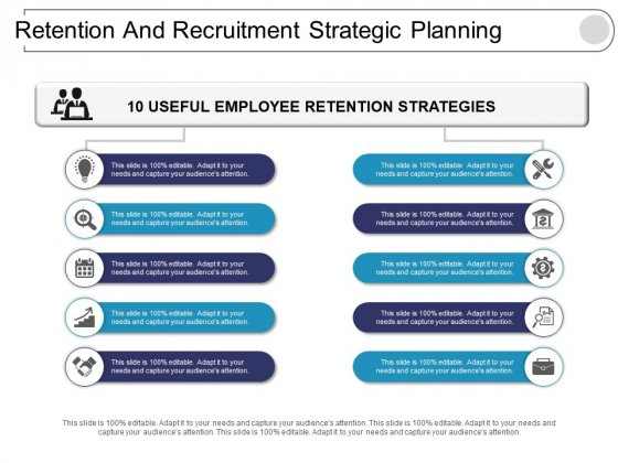 Retention And Recruitment Strategic Planning Ppt PowerPoint