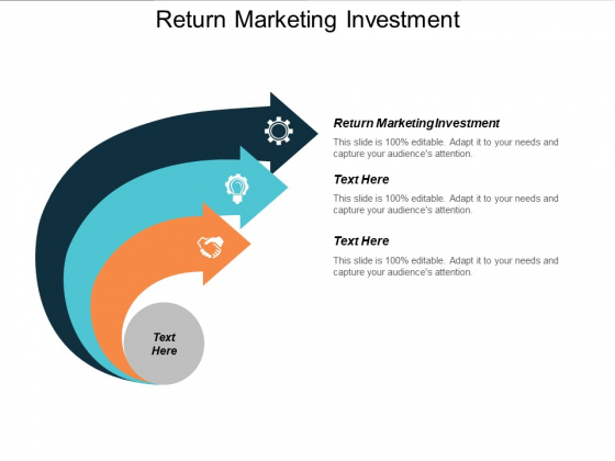 Return Marketing Investment Ppt PowerPoint Presentation Infographics Vector Cpb