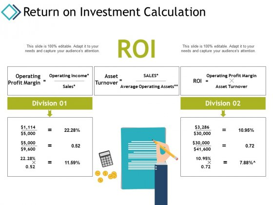 Return On Investment Calculation Planning Ppt PowerPoint Presentation Professional Good