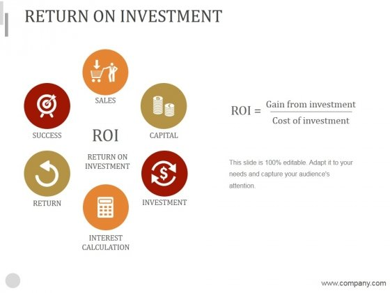 Return On Investment Ppt PowerPoint Presentation Example 2015
