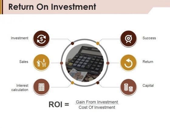 Return On Investment Ppt PowerPoint Presentation Inspiration Grid