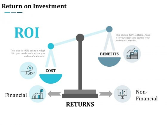 Return On Investment Ppt Powerpoint Presentation Show Outline