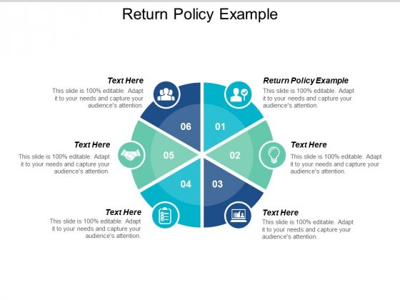 Return Policy Example Ppt PowerPoint Presentation Styles Grid Cpb