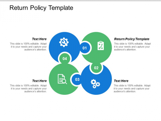 Return Policy Template Ppt PowerPoint Presentation Layouts Model Cpb