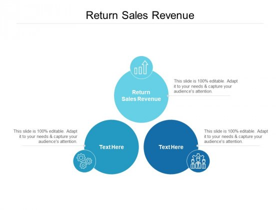 Return Sales Revenue Ppt PowerPoint Presentation Professional Outfit Cpb