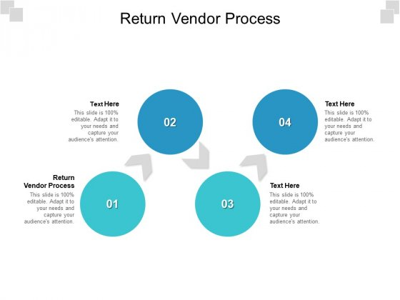 Return Vendor Process Ppt PowerPoint Presentation Show Images Cpb Pdf