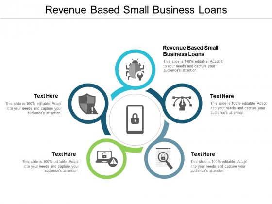 Revenue Based Small Business Loans Ppt PowerPoint Presentation Inspiration Model Cpb