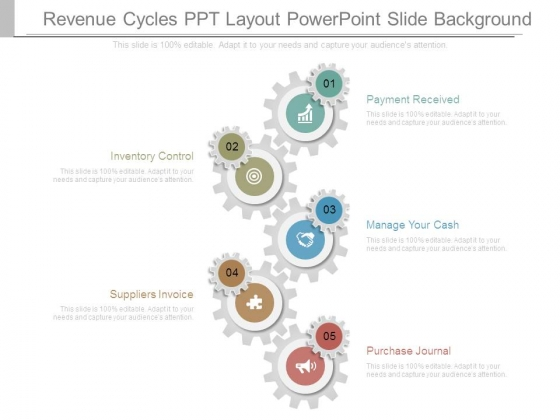 Revenue Cycles Ppt Layout Powerpoint Slide Background