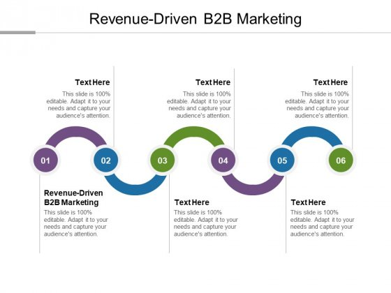 Revenue Driven B2B Marketing Ppt PowerPoint Presentation File Styles Cpb