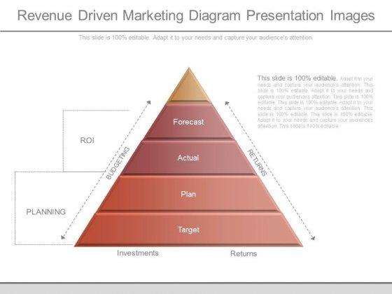 Revenue Driven Marketing Diagram Presentation Images