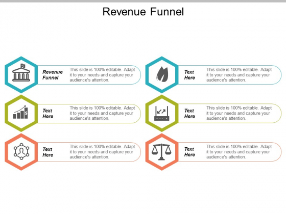 Revenue Funnel Ppt Powerpoint Presentation Portfolio Good Cpb