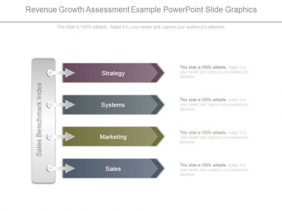 Revenue Growth Assessment Example Powerpoint Slide Graphics