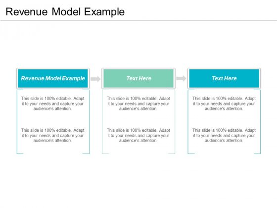 Revenue Model Example Ppt PowerPoint Presentation Gallery Clipart Cpb