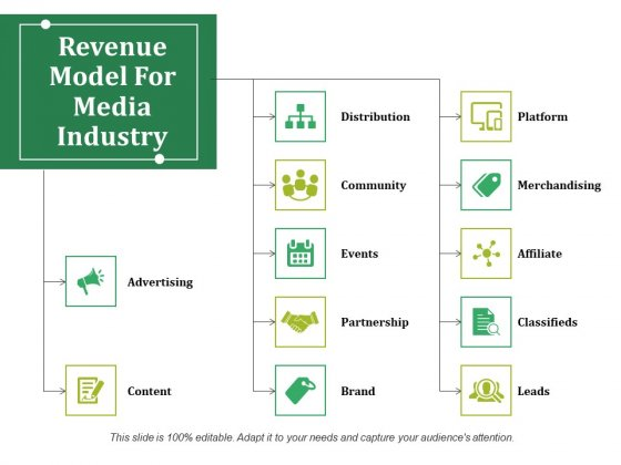Revenue Model For Media Industry Ppt PowerPoint Presentation Show Picture