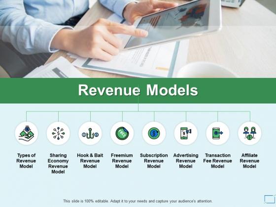Revenue Models Slide Social Ppt PowerPoint Presentation Show Maker