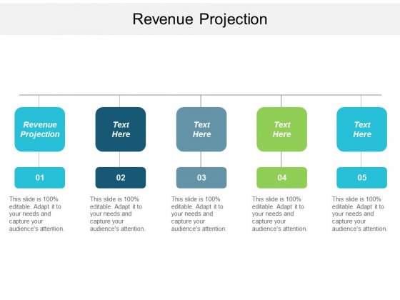 Revenue Projection Ppt Powerpoint Presentation Icon Cpb