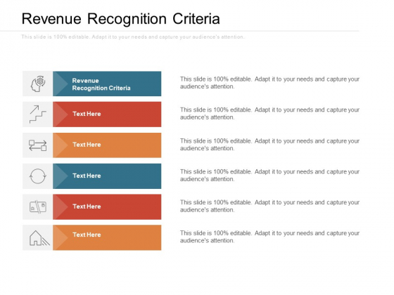 Revenue Recognition Criteria Ppt PowerPoint Presentation Layouts Visual Aids Cpb Pdf