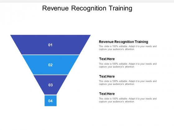 Revenue Recognition Training Ppt PowerPoint Presentation Styles Cpb