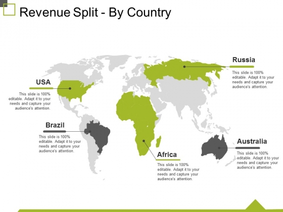 Revenue Split By Country Ppt PowerPoint Presentation Infographic Template Graphic Images