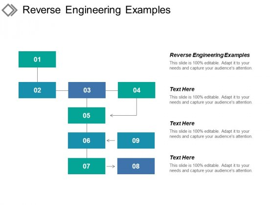 Reverse Engineering Examples Ppt PowerPoint Presentation Summary Graphics Download Cpb