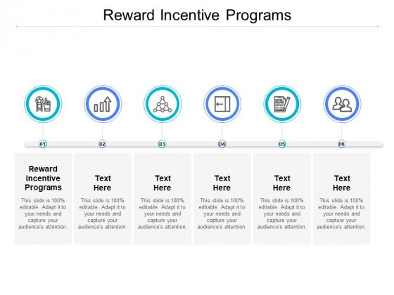 Reward Incentive Programs Ppt PowerPoint Presentation Show Guidelines Cpb